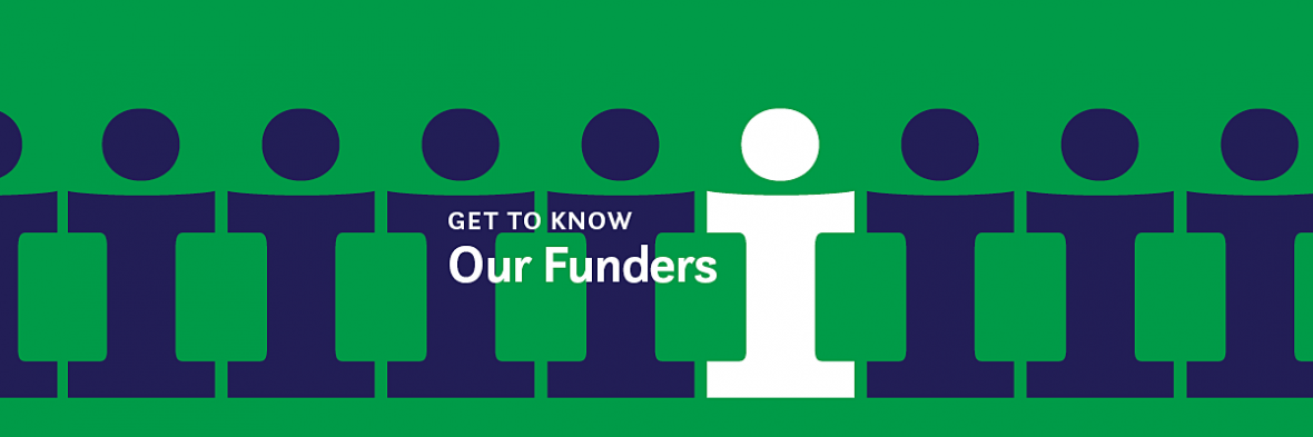 Get to Know Funders Banner